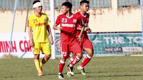 Nam Định chắc suất vào bán kết U21 Quốc gia 2020