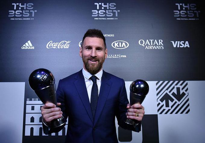 Messi là chủ nhân giải thưởng FIFA The Best dành cho cầu thủ nam năm 2019
