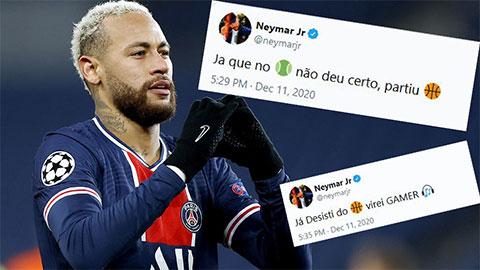 Neymar 'dỗi' khi không lọt vào Top 3 The Best 2020