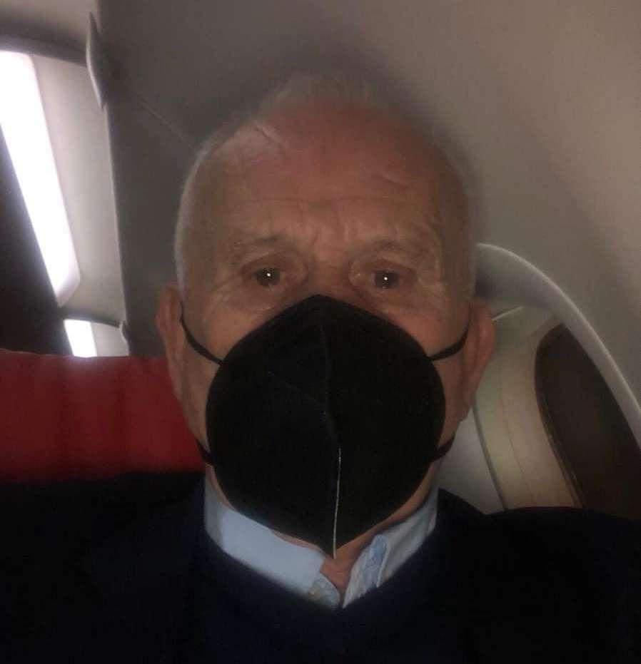 HLV Petrovic trên chuyến bay sang Việt Nam