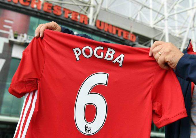 M.U cần tìm một ngôi sao có giá trị thương mại cao như Pogba để thay thế