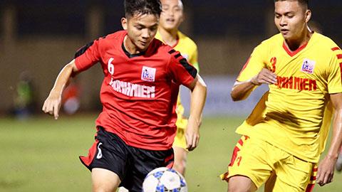 VCK U21 Quốc gia: Cầu thủ 17 tuổi ghi siêu phẩm, SLNA đại thắng Long An