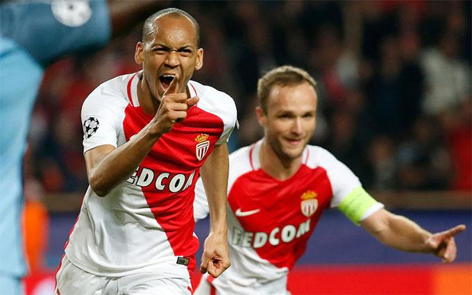 Fabinho từng giúp Monaco đá văng Man City khỏi Champions League
