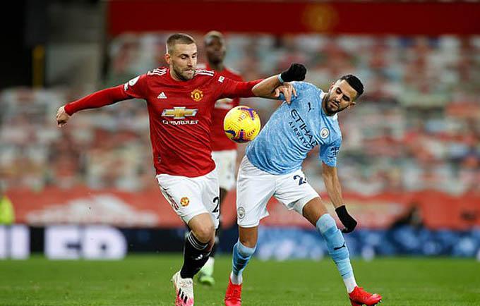 Shaw đã có trận đấu hay trước Man City