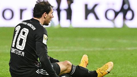 Bayern khủng hoảng tiền vệ