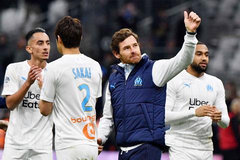 Thầy trò HLV Villas-Boas vươn lên ngôi nhì bảng sau chiến thắng trước Monaco