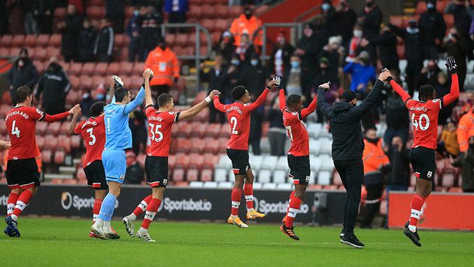 Southampton tiếp tục thăng hoa ở mùa giải này
