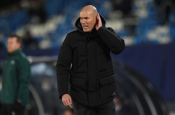 Zidane chưa vội nghĩ tới Atalanta