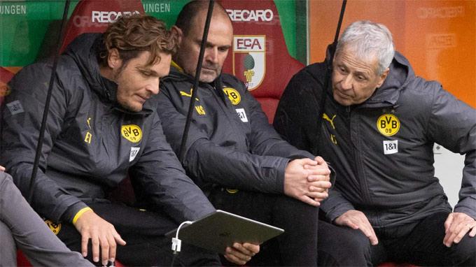 Terzic là trợ lý HLV của Dortmund từ khi Favre làm thuyền trưởng