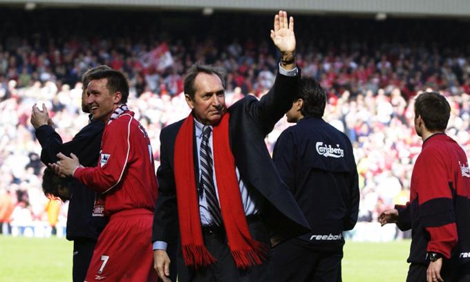 Houllier luôn được các CĐV của Liverpool yêu mến và trân trọng
