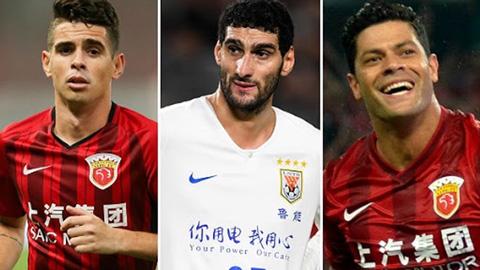 Super League Trung Quốc nguy cơ mất hàng loạt sao bự