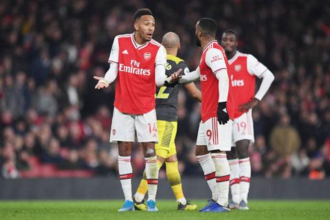 Arsenal đang có phong độ tồi tệ