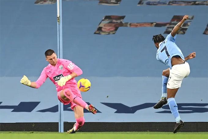 Các cầu thủ tấn công của Man City dứt điểm quá tệ