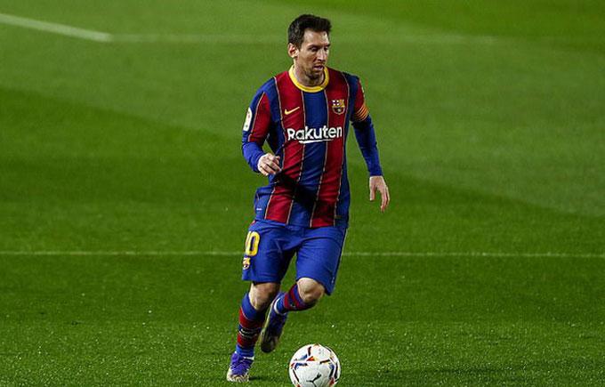 Messi đã không còn có thể gánh nổi Barca