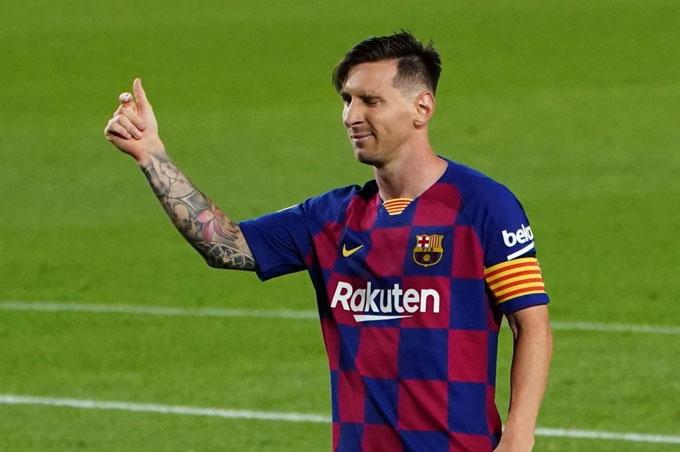 Messi cán mốc 700 bàn ở trận gặp Atletico