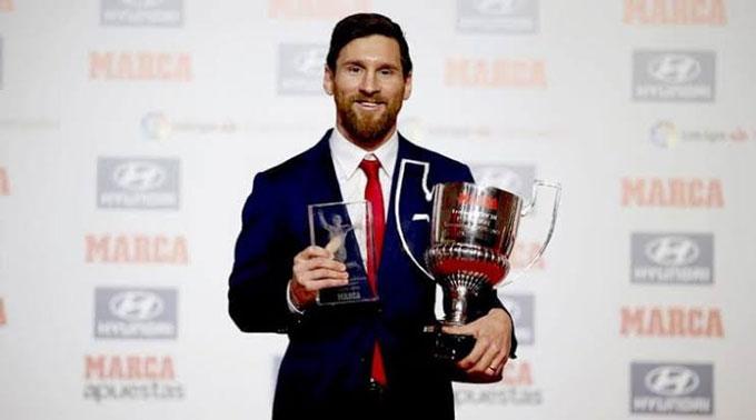 Messi lần thứ 7 đoạt giải Pichichi