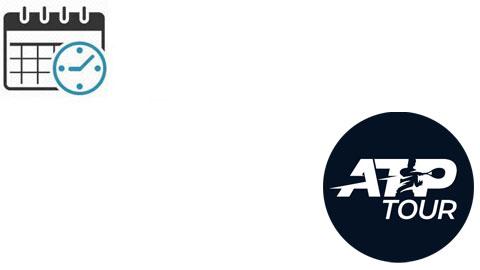 Lịch thi đấu tennis ATP 2021