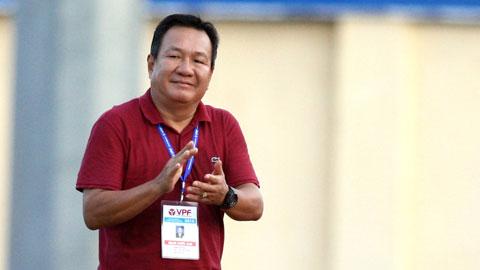 HLV Hoàng Văn Phúc hiện là giám đốc trung tâm đào tạo bóng đá trẻ Hà NộiẢnh: MINH TUẤN