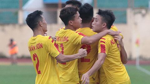 Đánh bại Nam Định, SLNA vào chung kết U21 Quốc gia