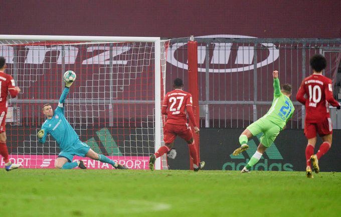 Phillip chọc thủng lưới Bayern ngay phút thứ 5