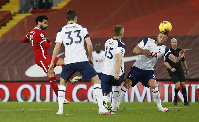 Salah mở tỷ số trận đấu