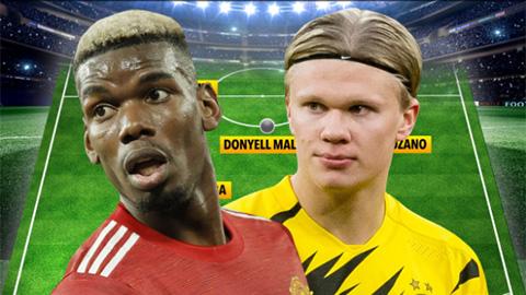 Pogba và Haaland dẫn đầu đội hình thân chủ của Raiola