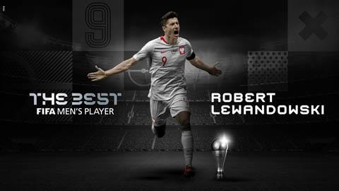 Lewandowski giành FIFA The Best 2020