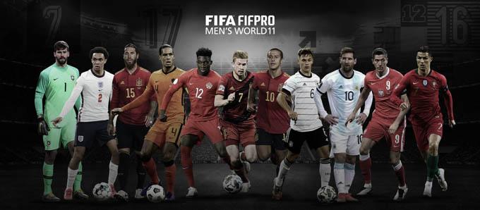 Đội hình 11 nam cầu thủ xuất sắc nhất của FIFA The Best