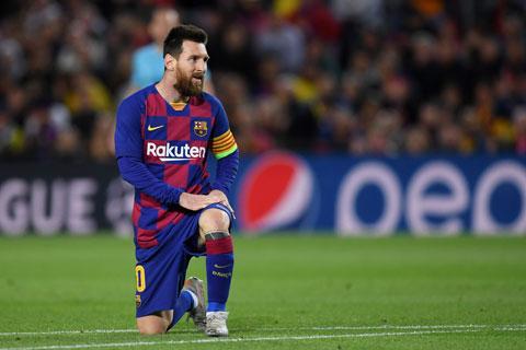 Messi phải mất hơn 20 cú sút mới có thể ghi được 1 bàn thắng tại La Liga mùa này