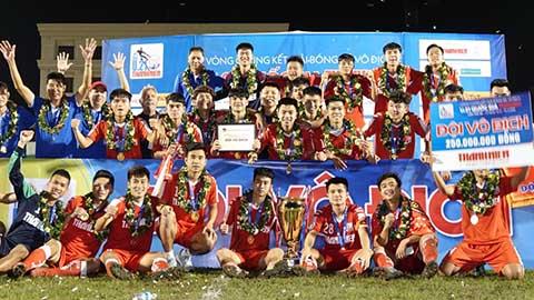 Hạ bệ SLNA, Viettel vô địch U21 Quốc gia