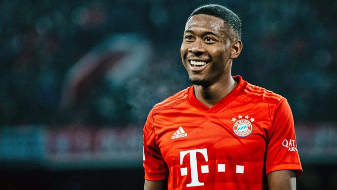 Alaba đã ăn ba cùng Bayern mùa trước