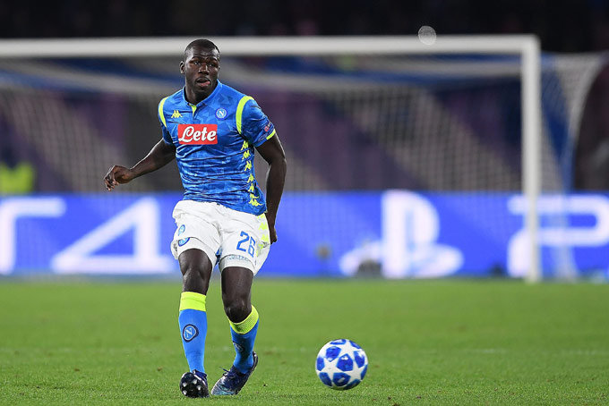 Koulibaly là cầu thủ không thể thiếu của Napoli