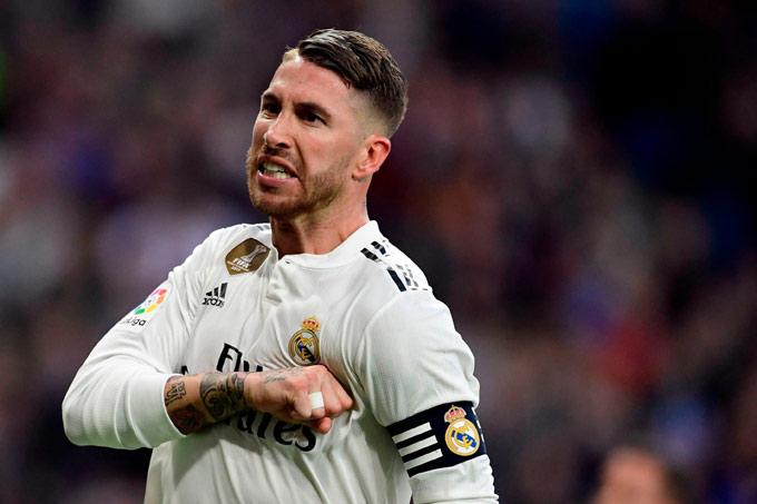 Ramos tiếp tục là chỗ dựa vững chắc ở cả Real và ĐT Tây Ban Nha