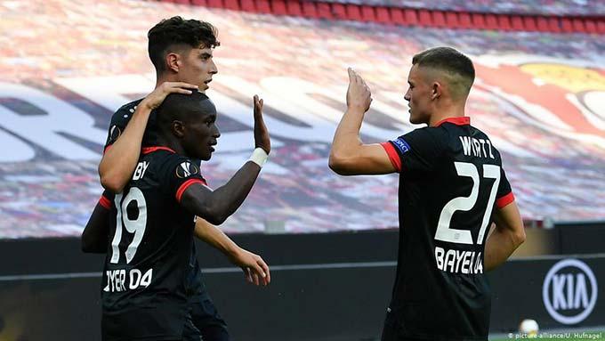 Wirtz dần thay thế tầm ảnh hưởng của Havertz tại Leverkusen
