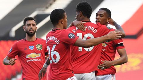M.U đang thăng hoa tại Premier League khi thắng 5/6 vòng gần nhất