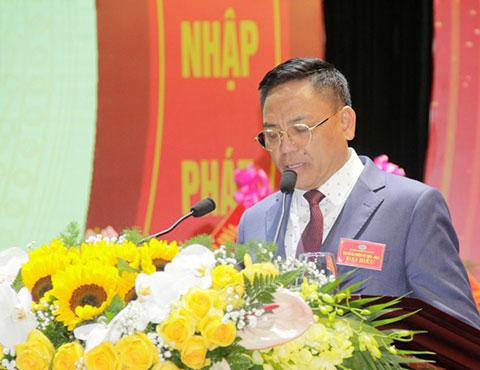 Bầu Đoan vừa được bầu làm Chủ tịch Hiệp hội doanh nghiệp tỉnh Thanh Hóa khiến toàn đội khá vui mừng