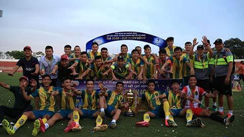 Cựu sao U19 Việt Nam cùng đồng đội vô địch tại Thiên Long 2020