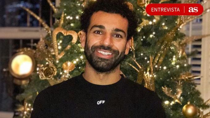 Salah bất ngờ xuất hiện trên tờ AS