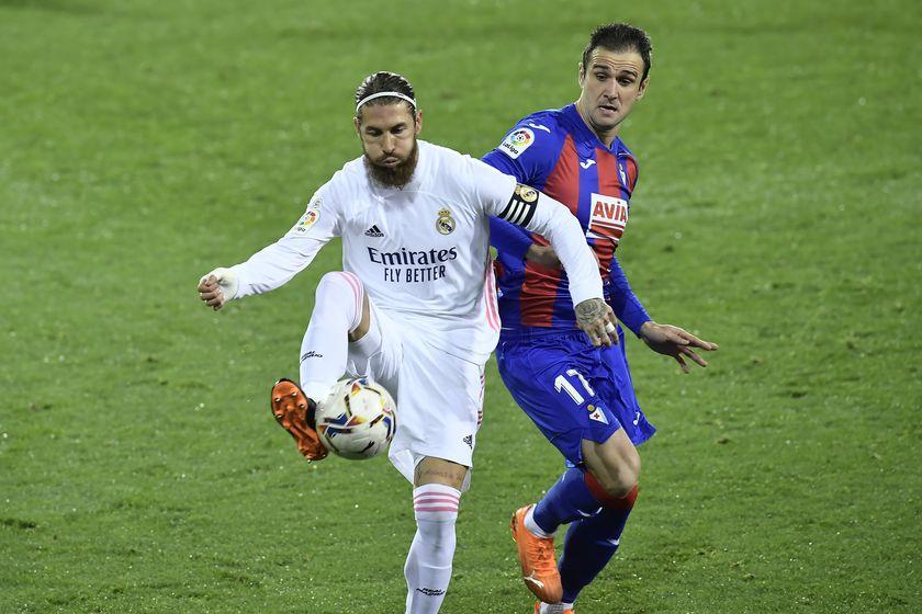 Ramos mắc không ít lỗi ở trận Eibar vs Real