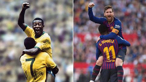 """Vì sao Messi vẫn chưa cân bằng kỷ lục vĩ đại của """"Vua bóng đá"""" Pele?"""