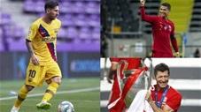 Top 10 cầu thủ giàu nhất thế giới năm 2020: Messi vượt mặt Ronaldo