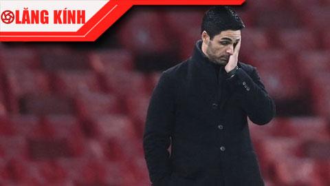 Arsenal không sa thải Arteta là sỉ nhục Wenger