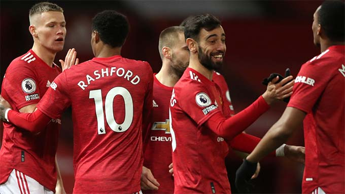M.U đang có 10 trận thắng liên tiếp ở Premier League
