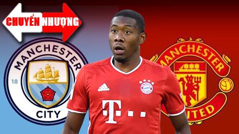 Tin đồn chuyển nhượng 22/12: Man City tranh sao Bayern với M.U