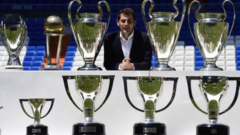 Casillas trở lại làm sếp ở Real Madrid sau 5 năm xa cách