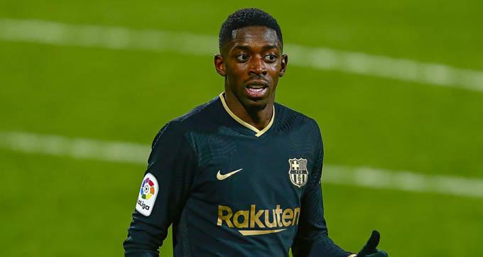 Barca sẽ vắng Dembele vì chấn thương