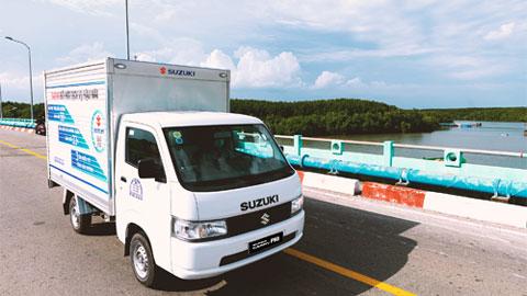 Nhỏ gọn và năng suất, xe tải nhẹ Suzuki đáp ứng mọi nhu cầu vận chuyển cuối năm