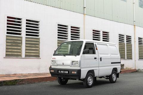 Suzuki Blind Van sẽ là một trợ thủ đắc lực cho những tài xế thường xuyên di chuyển trong đô thị hoặc vào giờ cao điểm
