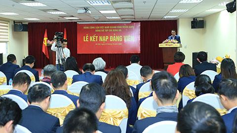 Thay mặt các đảng viên mới được kết nạp, Đồng chí Ngụy Như Duy hứa sẽ tiếp tục rèn luyện nâng cao trình độ, kiến thức phẩm chất chính trị
