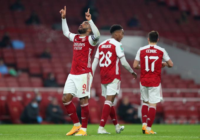 Lacazette ghi bàn thắng danh dự cho Arsenal